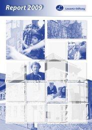 Report 2009 - Lawaetz-Stiftung