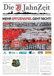 MEHR SPITZENSPIEL GEHT NICHT! - SSV Jahn Regensburg