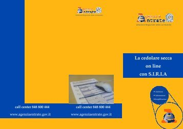 BROCHURE_vers307x220.pub - Direzione regionale Lombardia ...
