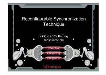 Reconfigurable Synchronization Technique