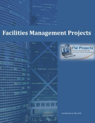 to view this brochure from FM Projects - NFMT
