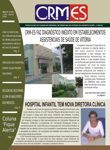 Jornal Julho-Agosto - Conselho Federal de Medicina