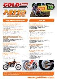 Sintered Goldfren Brake Pads For Honda CB 500 Y Twin 499cc Rear RH 2000-2001