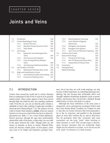 Joints and Veins - Global Change