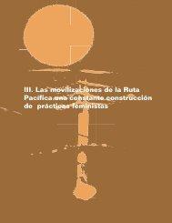 III. Las Movilizaciones de la Ruta Pacífica una - Buenas Prácticas ...