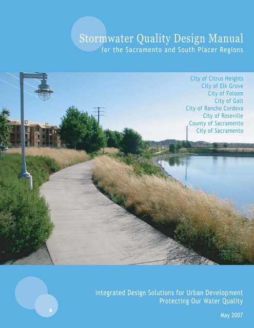 Stormwater Quality Design Manual (May 2007) - City of