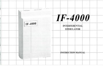 ProM-IF4000 Instruction Manual