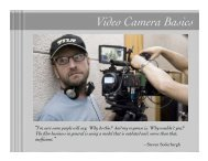 Video Camera Basics