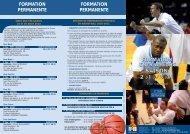 fiche de candidature - Fédération Française de Basketball