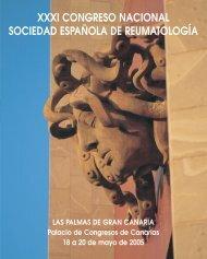 xxxi congreso nacional sociedad española de reumatología