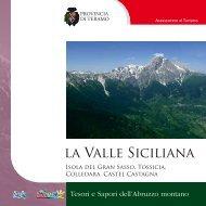 la Valle Siciliana - Teramo Turismo - Provincia di Teramo