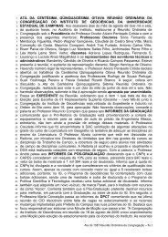 158ª Reunião Ordinária, realizada em 16/08/2006