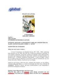 PROJETO DE LEITURA O ESTUDANTE ADELAIDE ... - Global Editora