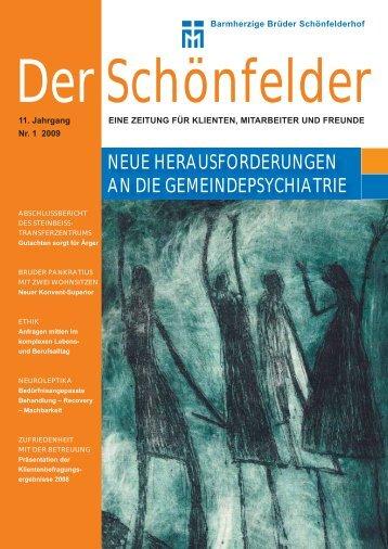 neue herausforderungen an die gemeindepsychiatrie - Barmherzige ...