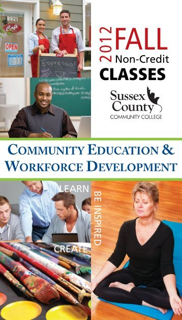 Fall 2012 - Sussex County Community College