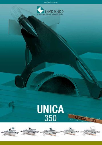unica 350 evo - Griggio Woodworking Machinery