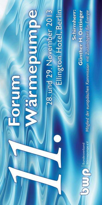 Forum W ärm ep u m p e 11 - bwp-service.de