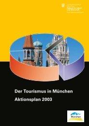 Der Tourismus in München Aktionsplan 2003 - Wirtschaft