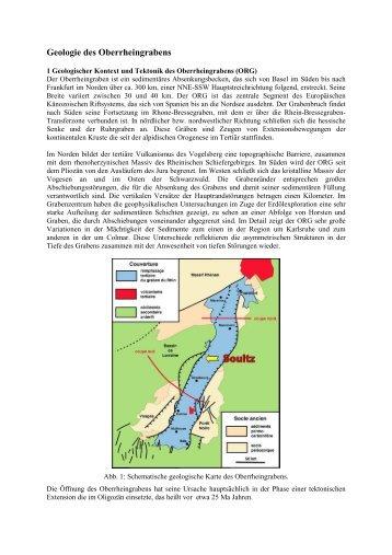 Geologie des Oberrheingrabens - geothermie soultz