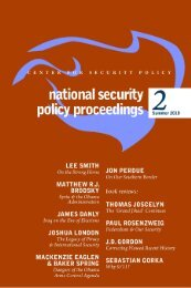 Volume 2 Summer 2010 - Center for Security Policy