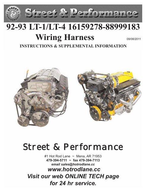 hr wiring harness 92 93 lt 1 lt 4 16159278 88999183 wiring harness street  lt 4 16159278 88999183 wiring harness