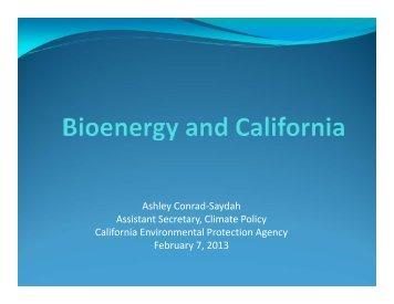 Ashley Conrad-Saydah Assistant Secretary, Climate Policy ...