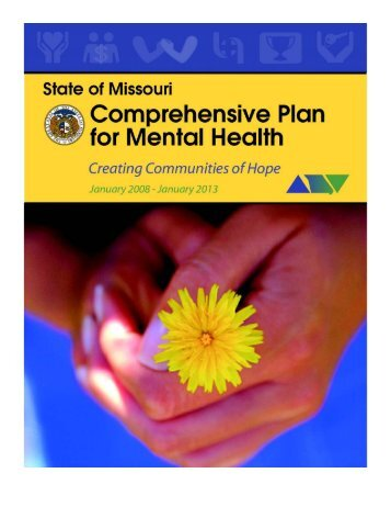 Cover design - Missouri Department of Mental Health