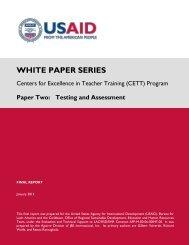 CETT Testing WP 012312.pdf - Uwi.edu