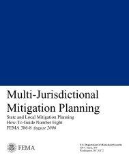 Multi-Jurisdictional Mitigation Planning - Wyoming Homeland Security