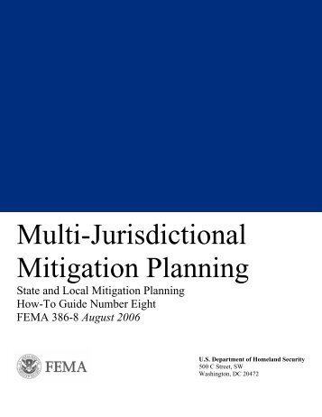 Multi-Jurisdictional Mitigation Planning - Wyoming Homeland Security