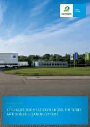 Corporate Brochure - Bilfinger Rosink GmbH