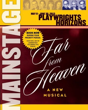 pdf version - Playwrights Horizons