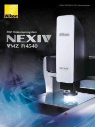 CNC Videomesssystem - Nikon Metrology