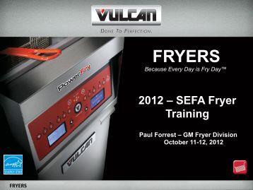 Vulcan Powerfry (PDF) - SEFA