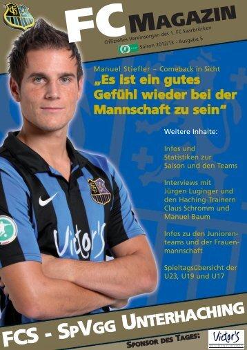 FCS - S - 1. FC Saarbrücken