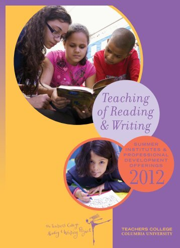 teachers reading writing project