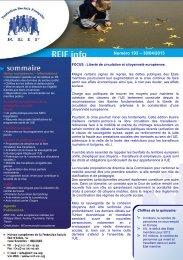 Numéro 193 – 30/04/2013 - La Représentation des Institutions ...