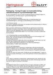 Datalagring - forslag til regler - El og it forbundet