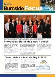 Introducing Burnside's new Council - City of Burnside - SA.Gov.au