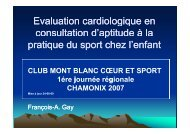 Evaluation cardiologique en Evaluation cardiologique en ...