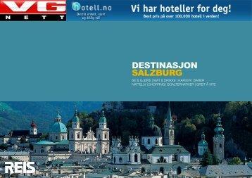 DESTINASJON SALZBURG - VG