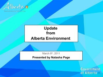 Natasha Page, Alberta Environment - Compost Council of Canada