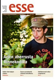 Esse 35/2012 (pdf) - Espoon seurakuntasanomat
