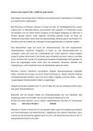 Bericht Charity Turnier 16.04.2012 - Golfclub Wasserburg Anholt