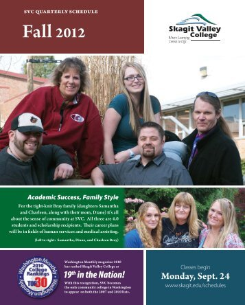 Fall 2012 - Skagit Valley College
