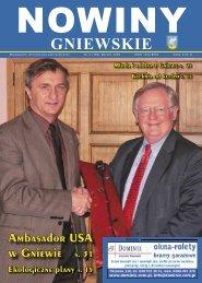 Nowiny Gniewskie Marzec 2009 - biblioteka.gniew.wbpg.org.pl