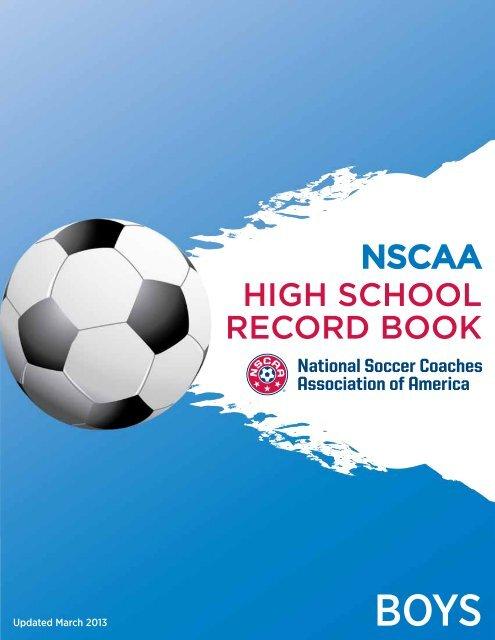 Nscaa High School Record Book