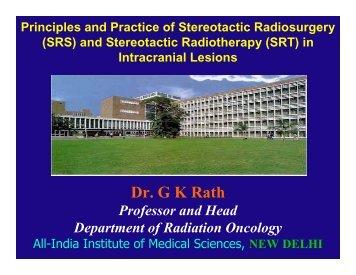 Dr. G K Rath - Aroi.org