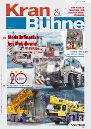 Kran & Bühne, Juni/Juli 2004: Titelseite