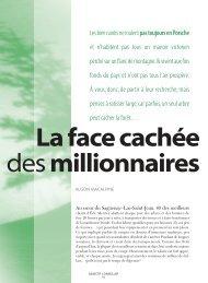 La face cachée des millionnaires - Conseiller
